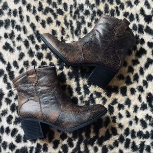 Dirty Laundry Unite Western booties